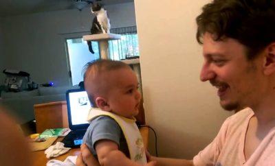 """Otecko mu povedal """"I love you"""" a tento chlapček mal najroztomilejšiu reakciu"""