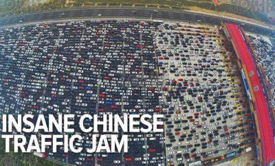 Aj teba rozčuľujú dopravné zápchy? Tak sa pozri na túto 50-prúdovú diaľnicu v Číne, neuveriteľné!