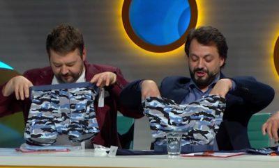 Scénka z inkognita, ktorá baví Slovensko. Chlapci dostali aj trendy darčeky na svoje intímne partie.